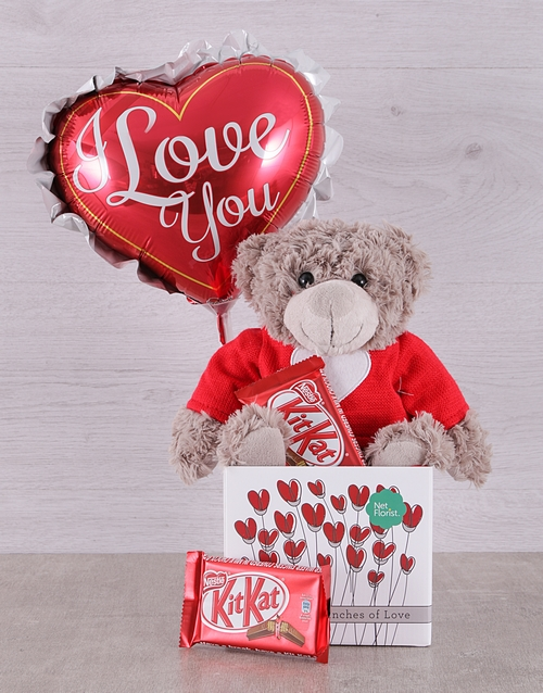 prices: Love Teddy and Kit Kat Box!