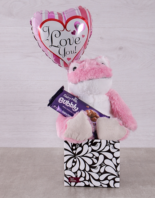 prices: Pink Love Frog and Bubbly Box!