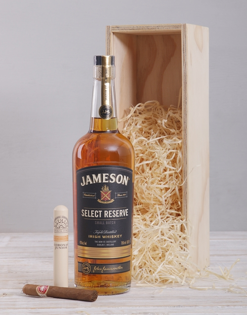 anniversary: Jameson Select Reserve and Cuban Cigar Crate!