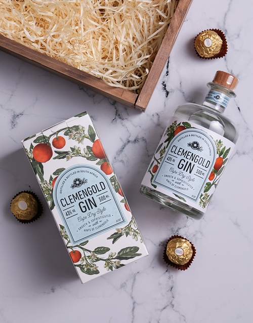 anniversary: Clemengold Gin Crate!