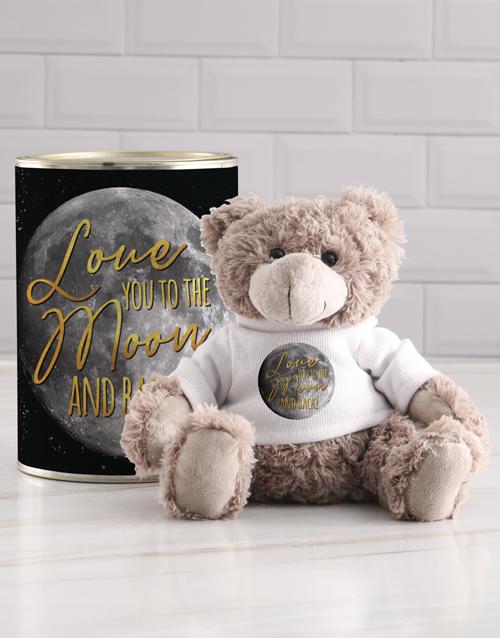 teddy-bears: Moon Teddy in a Tin!