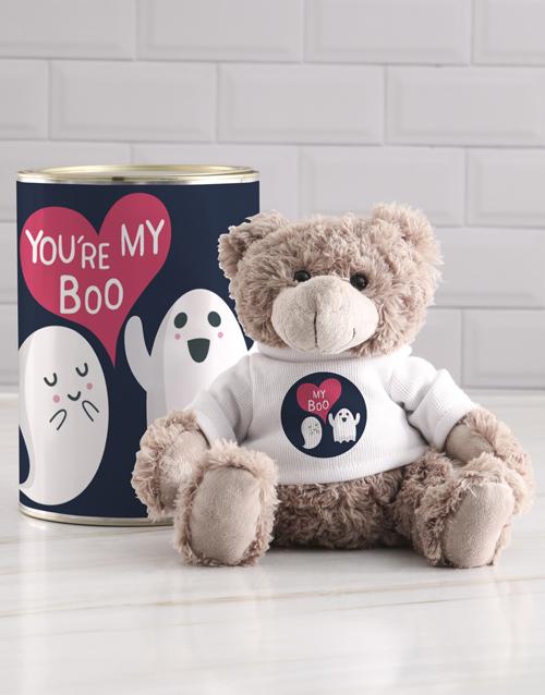 teddy-bears: My Boo Teddy in a Tin!