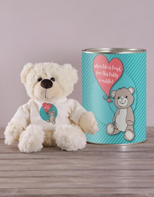 teddy-bears: Sorry Teddy in a Tin!