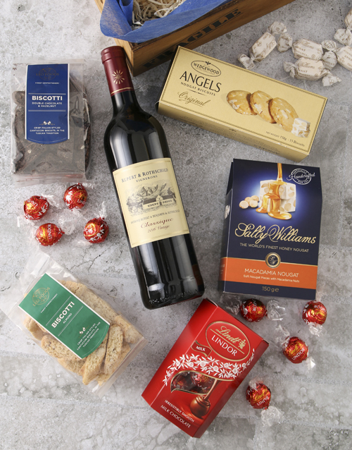 christmas: Biscotti Gift Crate!