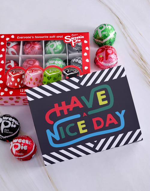 chocolate: Nice Day Sweetie Pies!