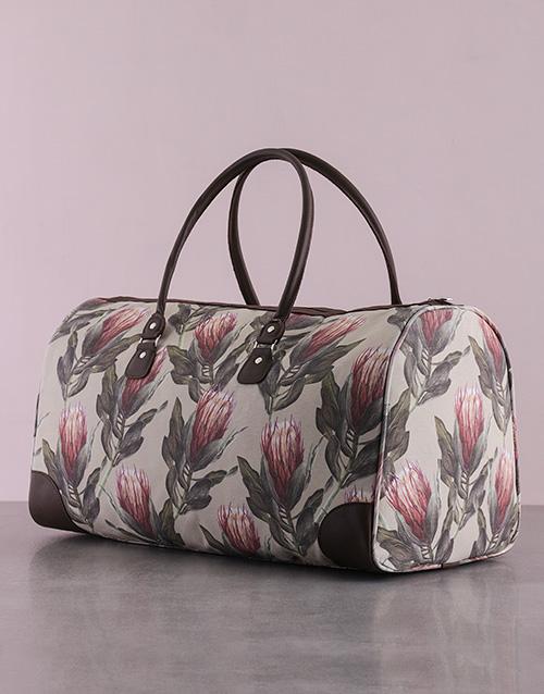 personalised: Protea Weekender Bag!