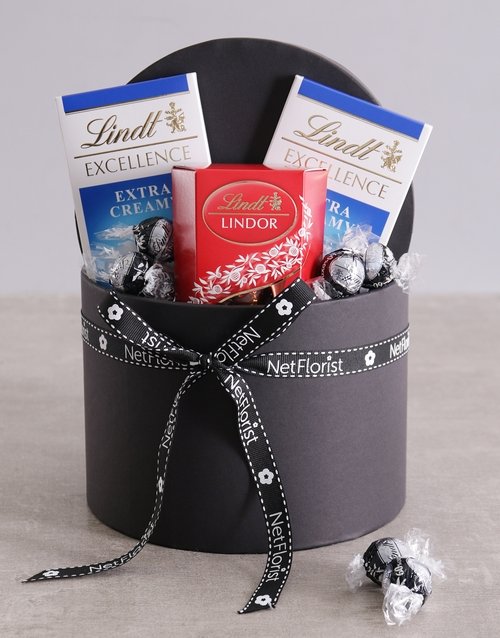mothers-day: Lindt Trio in Hat Box!