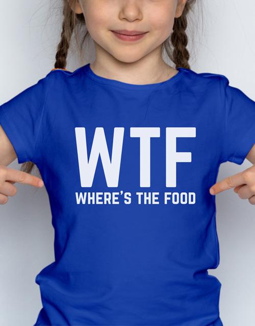 clothing: WTF Kids T Shirt!