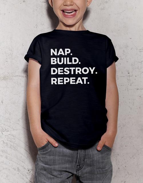 clothing: Destroyer Kids T Shirt!
