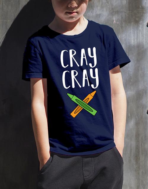 clothing: Cray Cray Kids T Shirt!