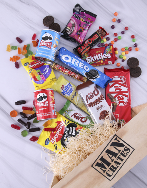 valentines-day: Sweet Assortments Man Crate!