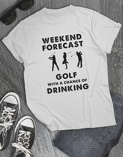 clothing: Forecast Of Golf Shirt!