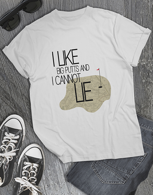 clothing: I Like Big Putts Golfer Shirt!