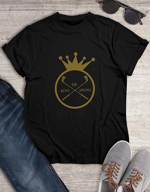 clothing: King Of Swing Golfer Shirt!