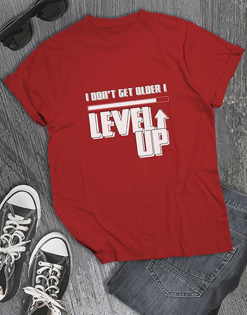 clothing: I Level up Gaming Tshirt!