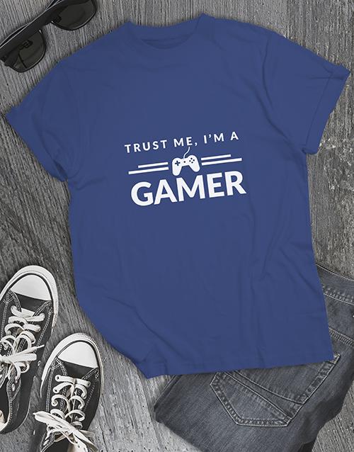 clothing: Trust Me Gaming Tshirt!