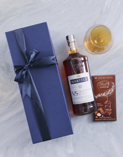 fine-alcohol: Blue Box of Martell VS!