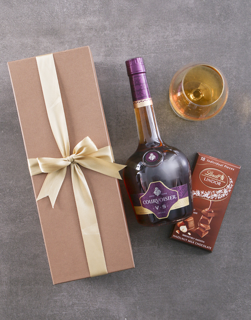 gifts: Gold Box of Courvoisier VS!