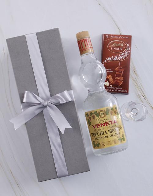 valentines-day: Silver Box of Grappa Veneta!