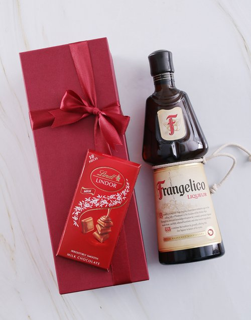 thank-you: Red Box of Frangelico!