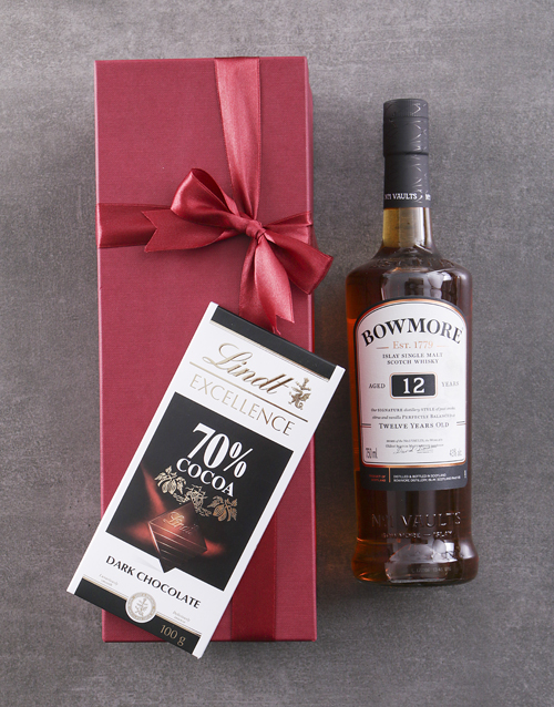 fine-alcohol: Red Box of Bowmore 10YR!