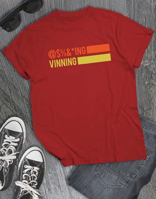 clothing: Vinnig T Shirt!
