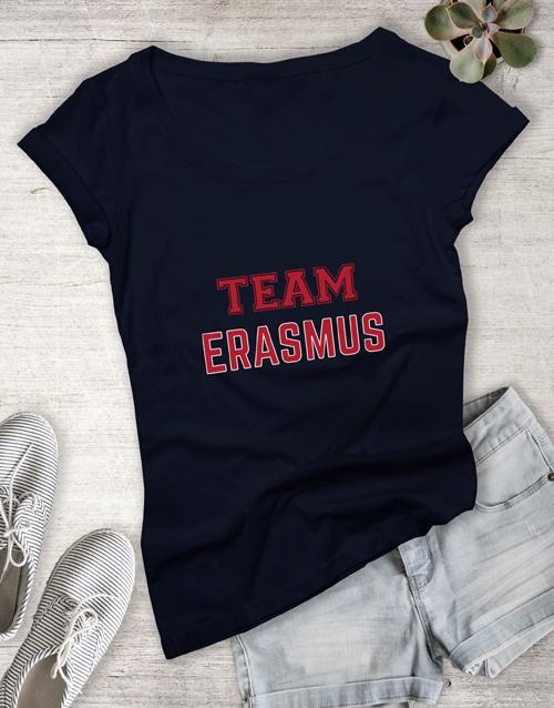personalised: Personalised Team Ladies T Shirt!