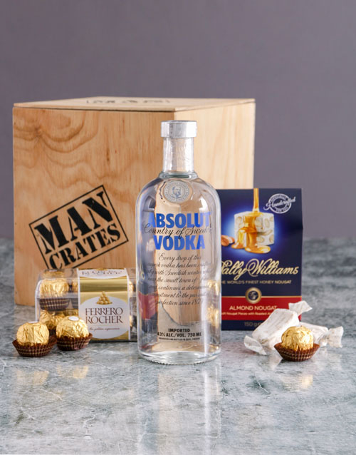 fathers-day: Absolut Man Crate!
