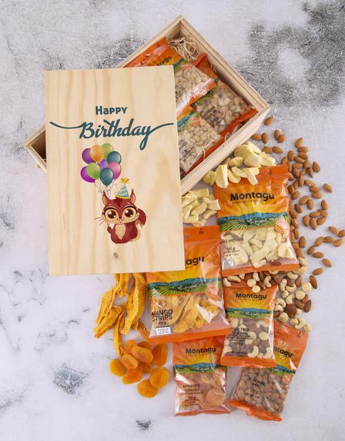 gourmet: Nutty Birthday Crate!