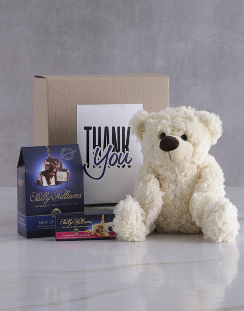 thank-you: Thank You Teddy and Nougat Gift Hamper!