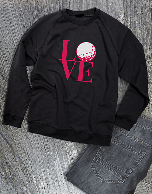clothing: Golf Lover Ladies Sweatshirt!