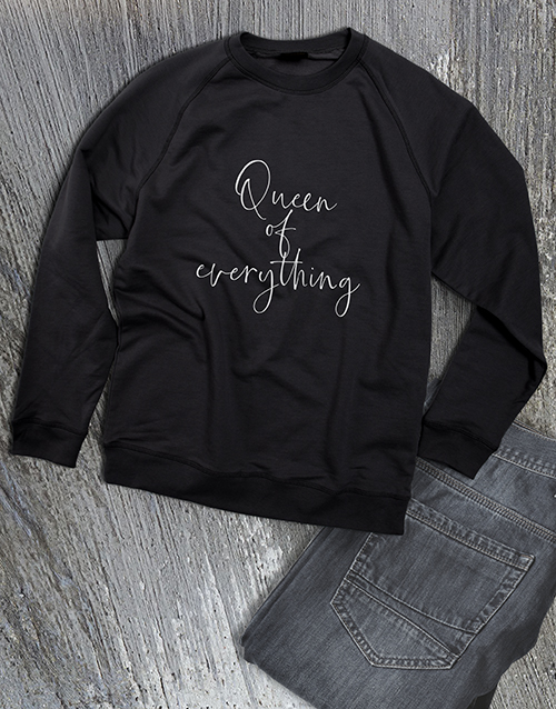 clothing: Queen Of Everything Ladies Sweatshirt!
