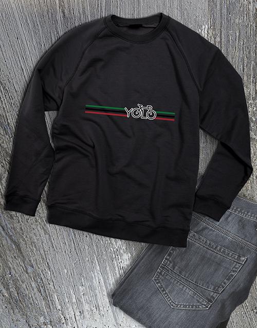 clothing: Yolo Cycling Ladies Sweatshirt!