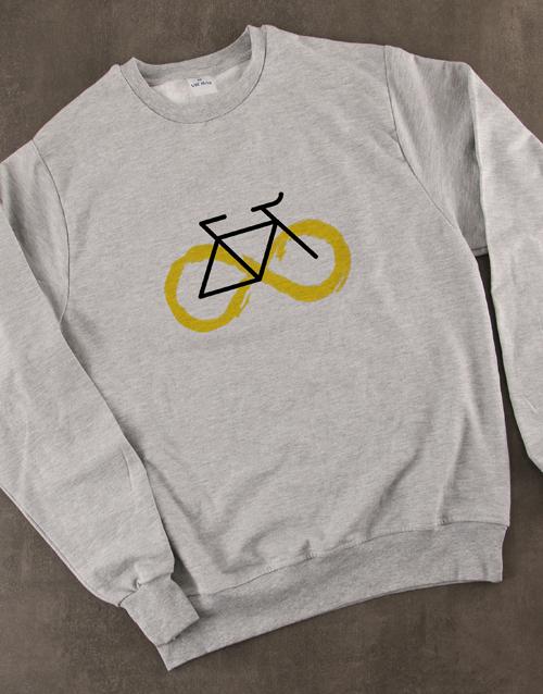 clothing: Graphic Infinity Cycle Ladies Sweatshirt!