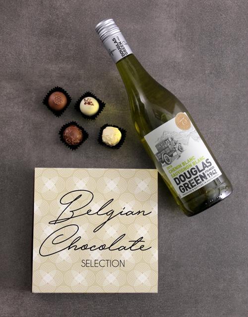 christmas: White Wine & Truffle Box!