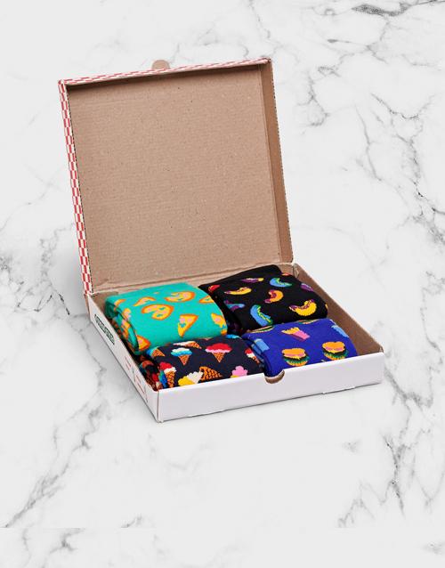 apparel: Happy Socks Junk Food Gift Box!