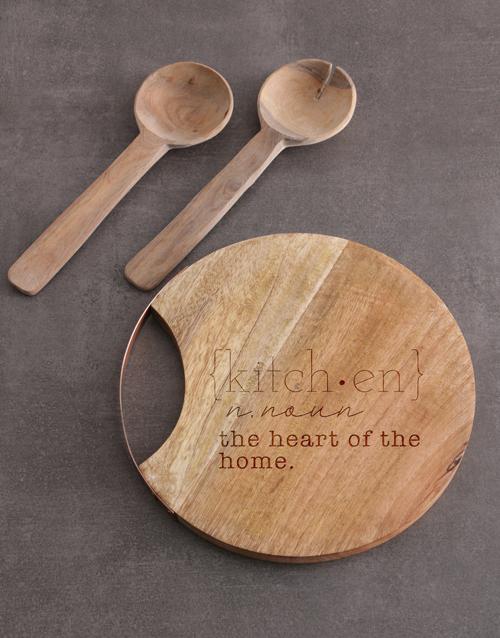 homeware: Kitchen Round Chopping Board!