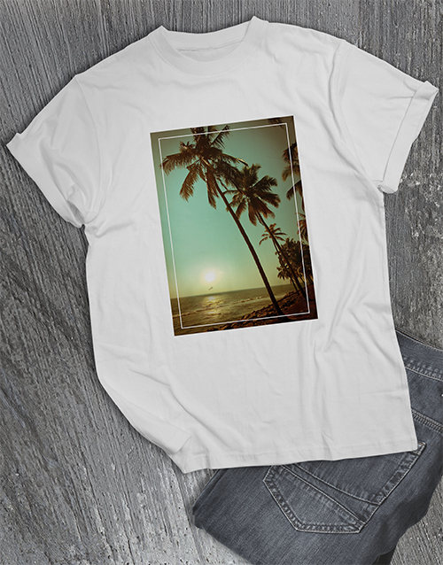 spring-day: Beach Sunset T Shirt!