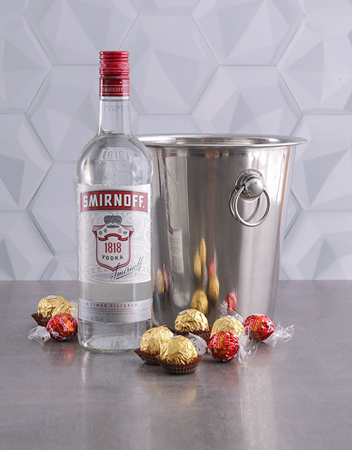 fine-alcohol: Smirnoff Vodka Ice Bucket Gift!