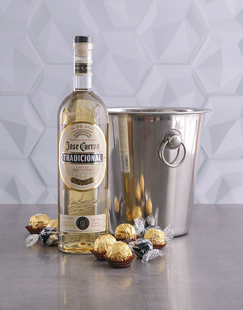 birthday: Jose Cuervo Tradicional Ice Bucket Gift!