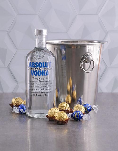 fine-alcohol: Absolut Vodka Ice Bucket Gift!