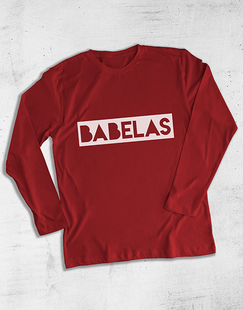 clothing: Babalaas Graphic Long Sleeve T Shirt!