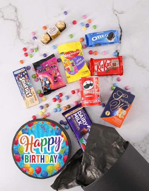 gourmet: Happy Birthday Sweet Hat Box!