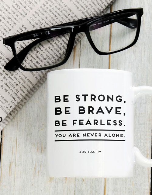 faith: Never Alone Mug!
