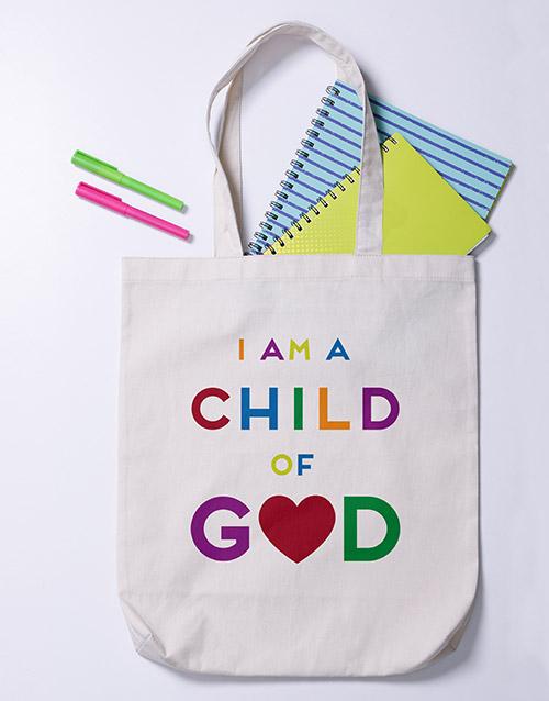 apparel: Child of God Tote Bag!