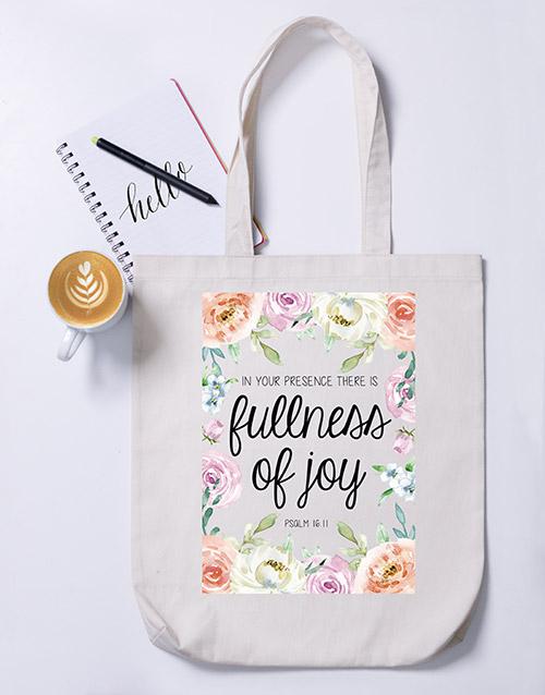 faith: Fullness Tote Bag!