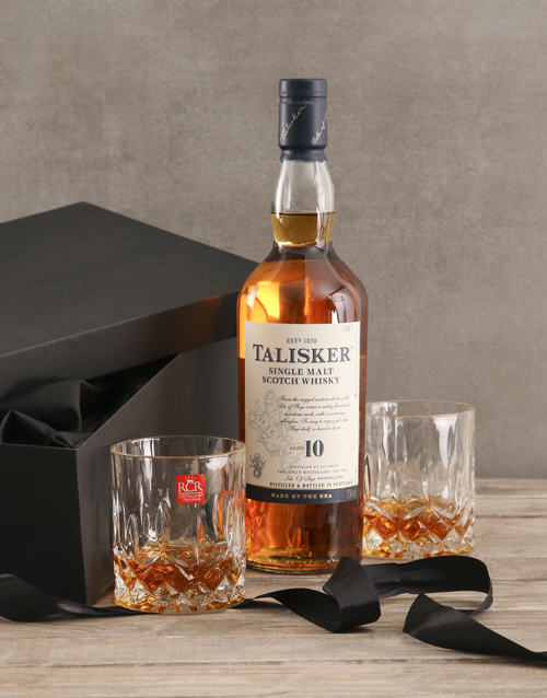 fathers-day: Talisker Whisky Gift Set!