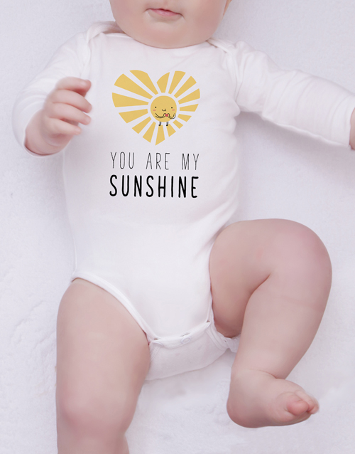 apparel: Sunshine Of My Heart Onesie!