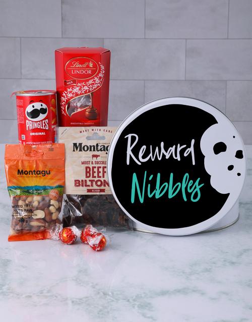 christmas: Snack Tin of Reward Nibbles!