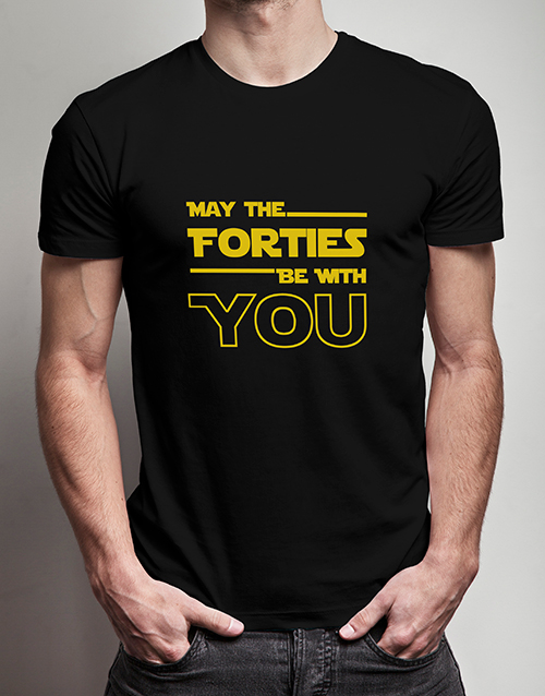 clothing: May the Forties T Shirt!
